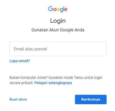 inbox Gmail log in
