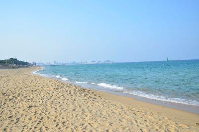 Keindahan Sokcho Beach di Korea Selatan