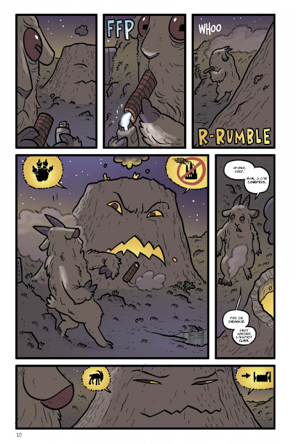Kaijumax Livre II de Zander Cannon aux éditions Bliss Comics page 12