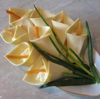 букет цветов - закуска