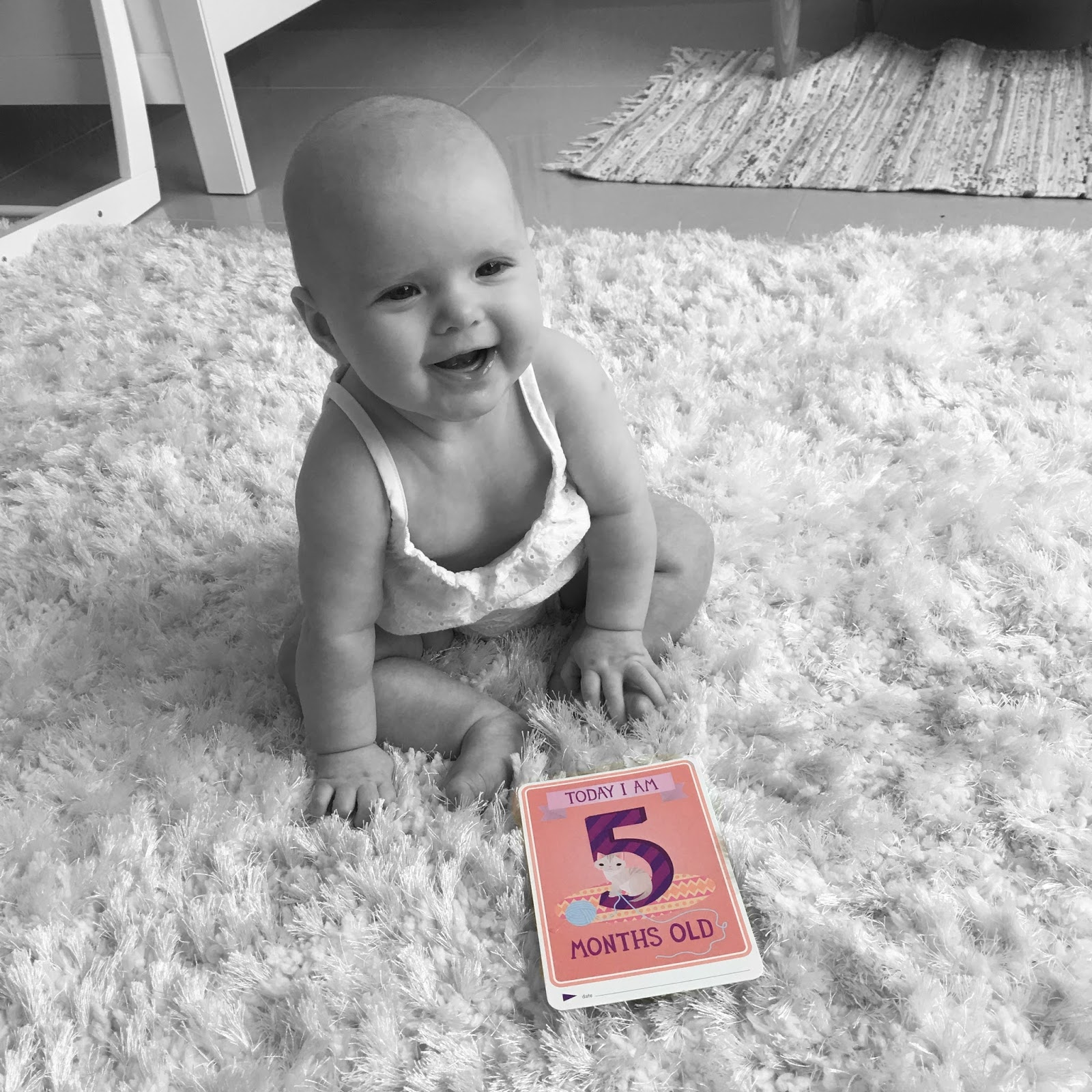 Sophia Molly: Four and Five Month Update