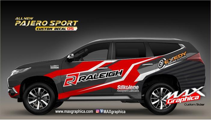 sticker New Pajero Custom Racing