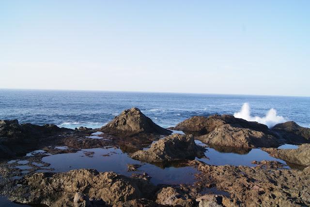piscinas naturales del norte de Gran Canaria-charcos del faro
