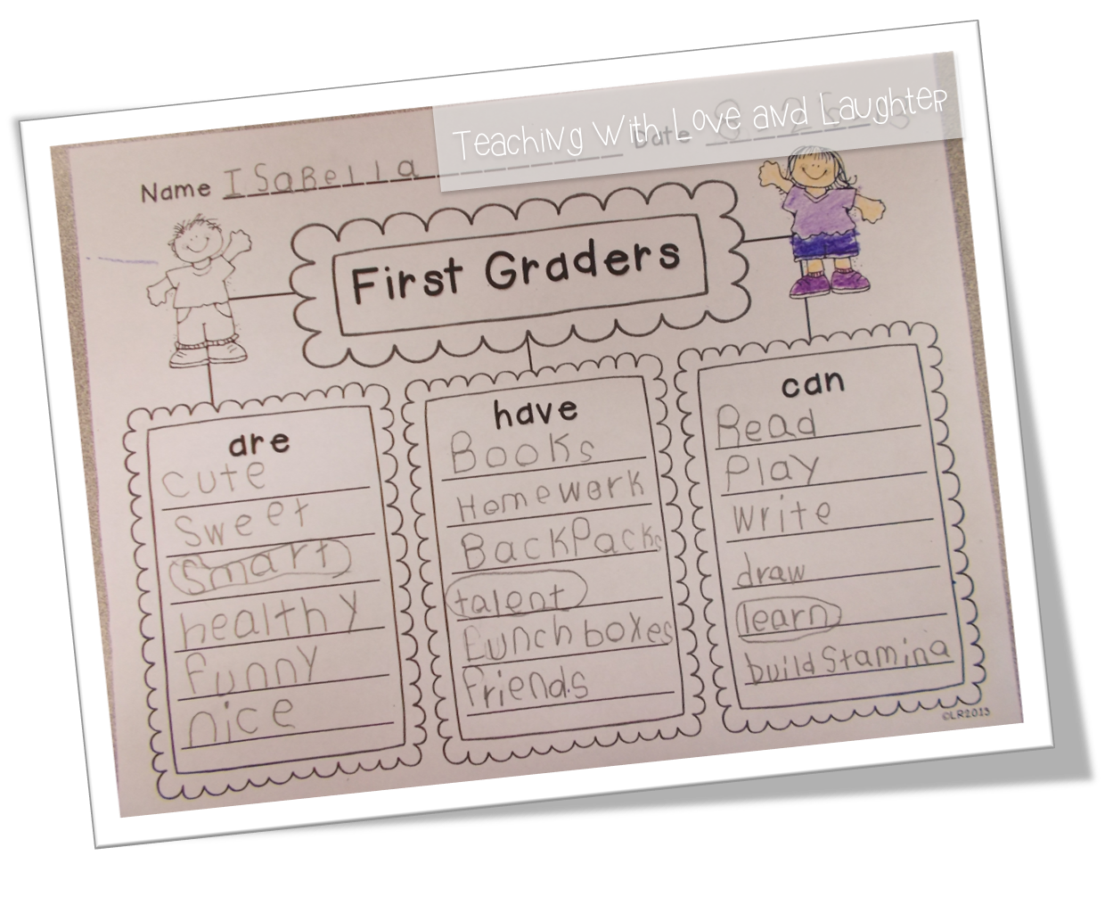 First Grade Noun Worksheets