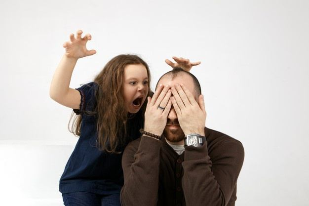 Child angry to parent
