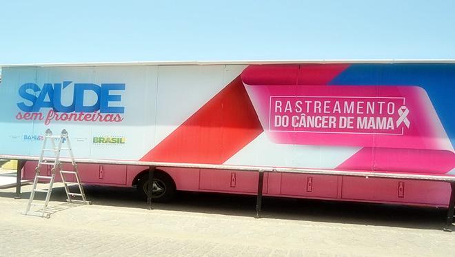 Rastreamento do Câncer de Mama chega a Mirangaba nesta segunda-feira (21)