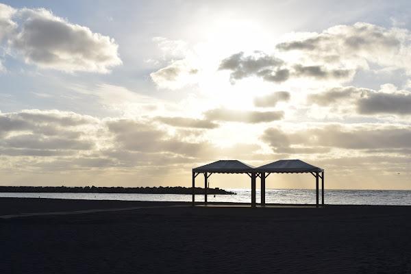 El Ayuntamiento de Santa Cruz de La Palma ultima las instalaciones complementarias de la playa
