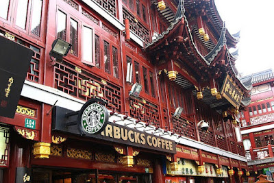Starbucks di China