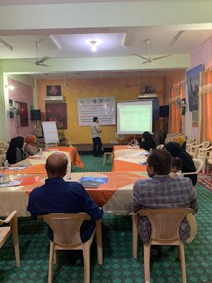 """مؤسسة المراة للتنمية في ميسان """" تتفذ جلسة عن الاحتياجات النسوية ضمن اجندة المراة والسلام"""