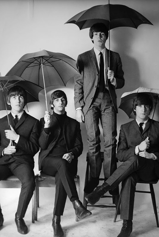 The Beatles Umbrellas