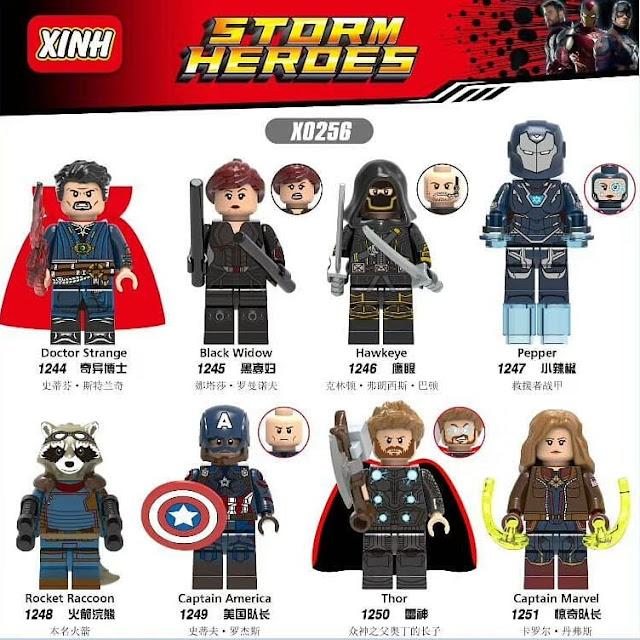 Iron Man Marvel Super Hero Minifigures Mini Figures Legends Technic Lego WM658