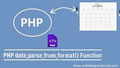 PHP date_parse_from_format() Function