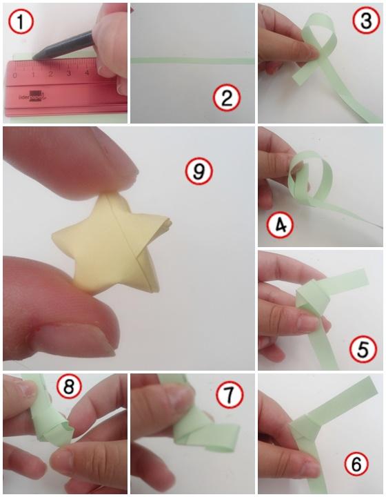 Dreams of love estrellas de papel en 3d - Estrellas de papel ...