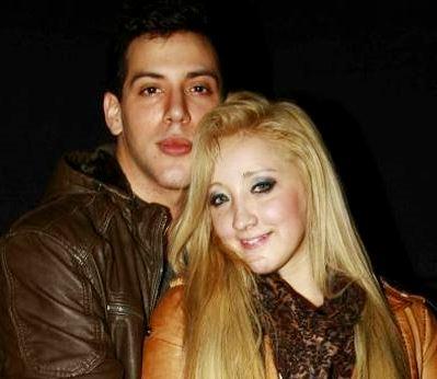 Foto de Jean Paul Santa María con su esposa
