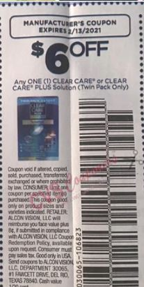 clear care coupon