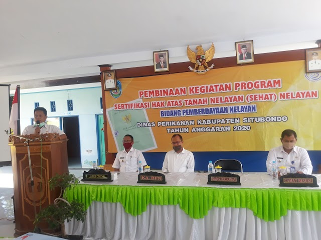 Program SeHAT Dinas Perikanan Situbondo Diharapkan Jadi Solusi Peningkatan Kapasitas Usaha Nelayan