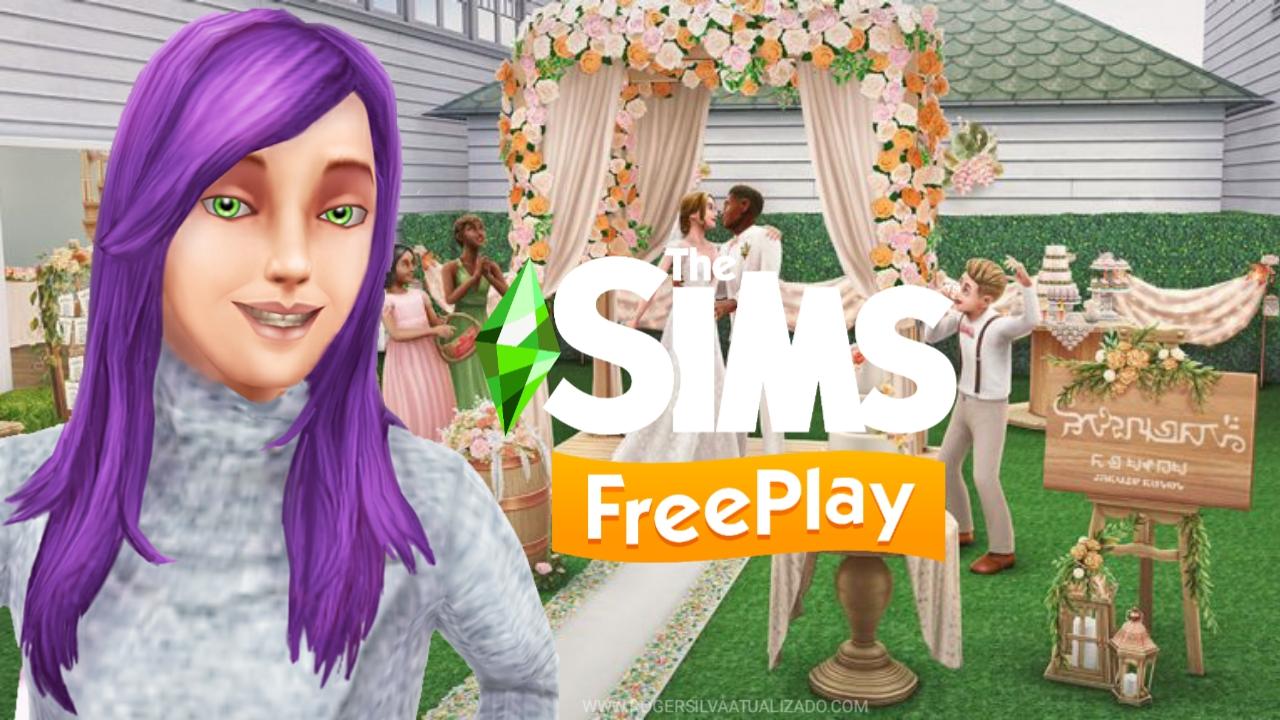 The Sims FreePlay v5.58.2 Mod APK Dinheiro Infinito - Casamento Rústico atualização