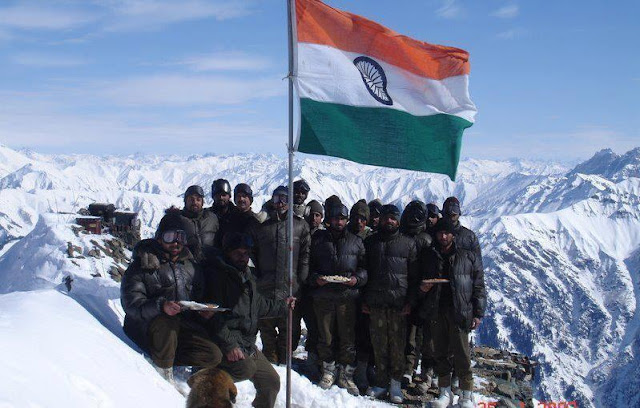 Indian Army Soldier-at Siachen