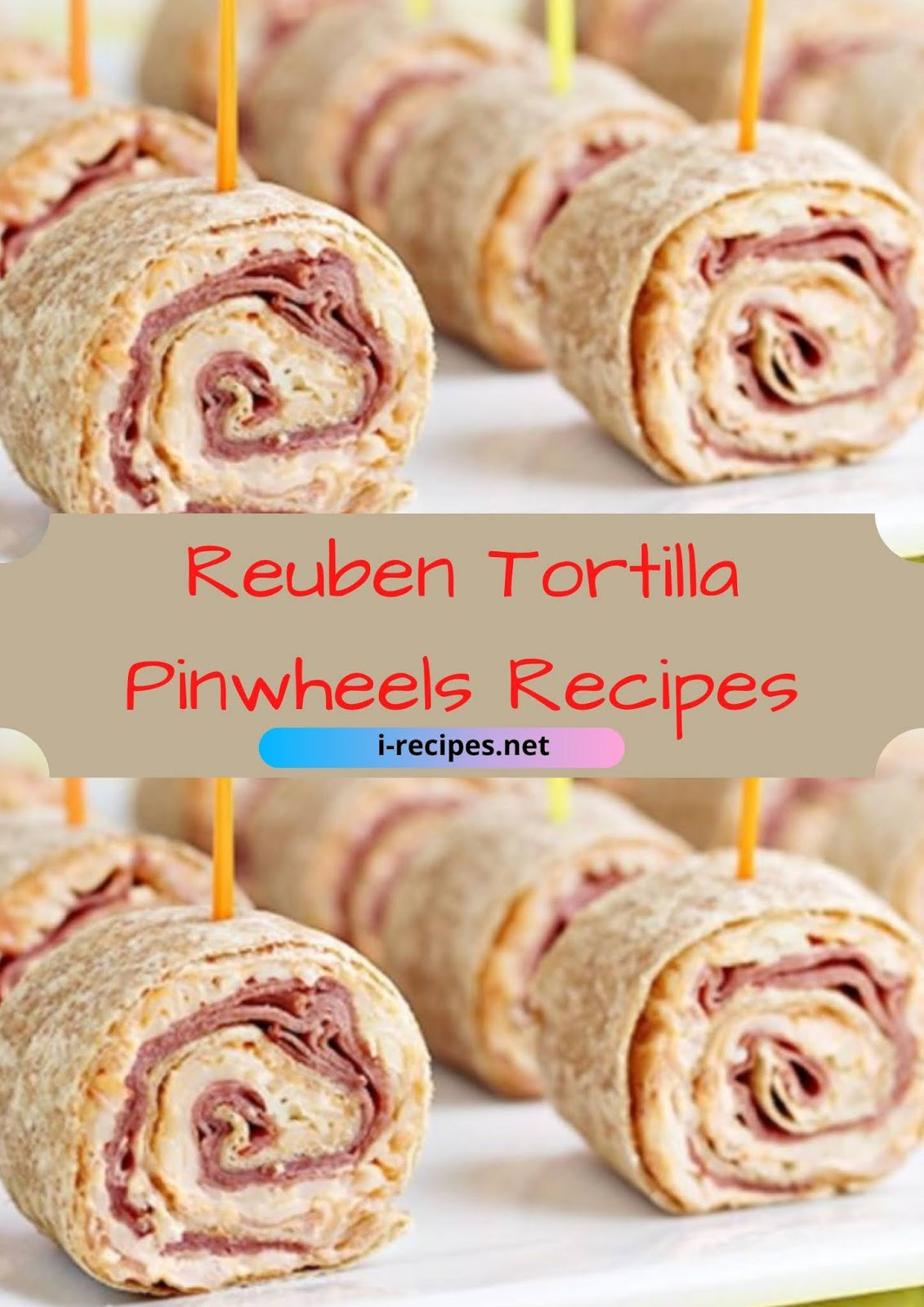 This Reuben Tortilla Pinwheels Recipe is ideal if you're wanting St. Patrick's Day party food, or if you only love all the flavors during a Reuben sandwich.