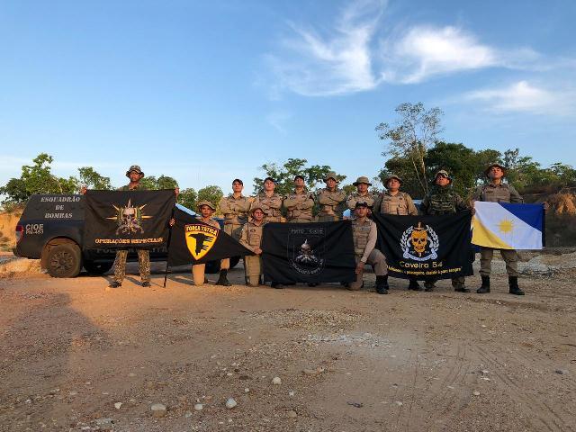 PM finaliza instrução de manuseio de armamento e tiro policial para militares em Araguatins