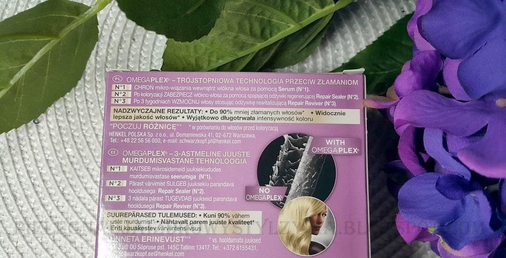 Schwarzkopf Color Expert 10.1 mroźny blond - opinie i efekty