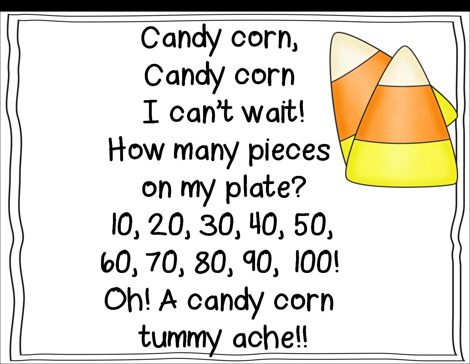 First Grade Wow Candy Corn Math Sweet