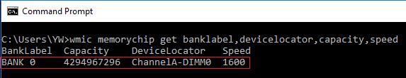 using WMIC commands