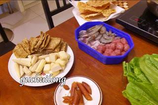 Makanan Steamboat