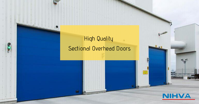Industrial sectional door, sectional door, sectional doors, Sectional Overhead Doors