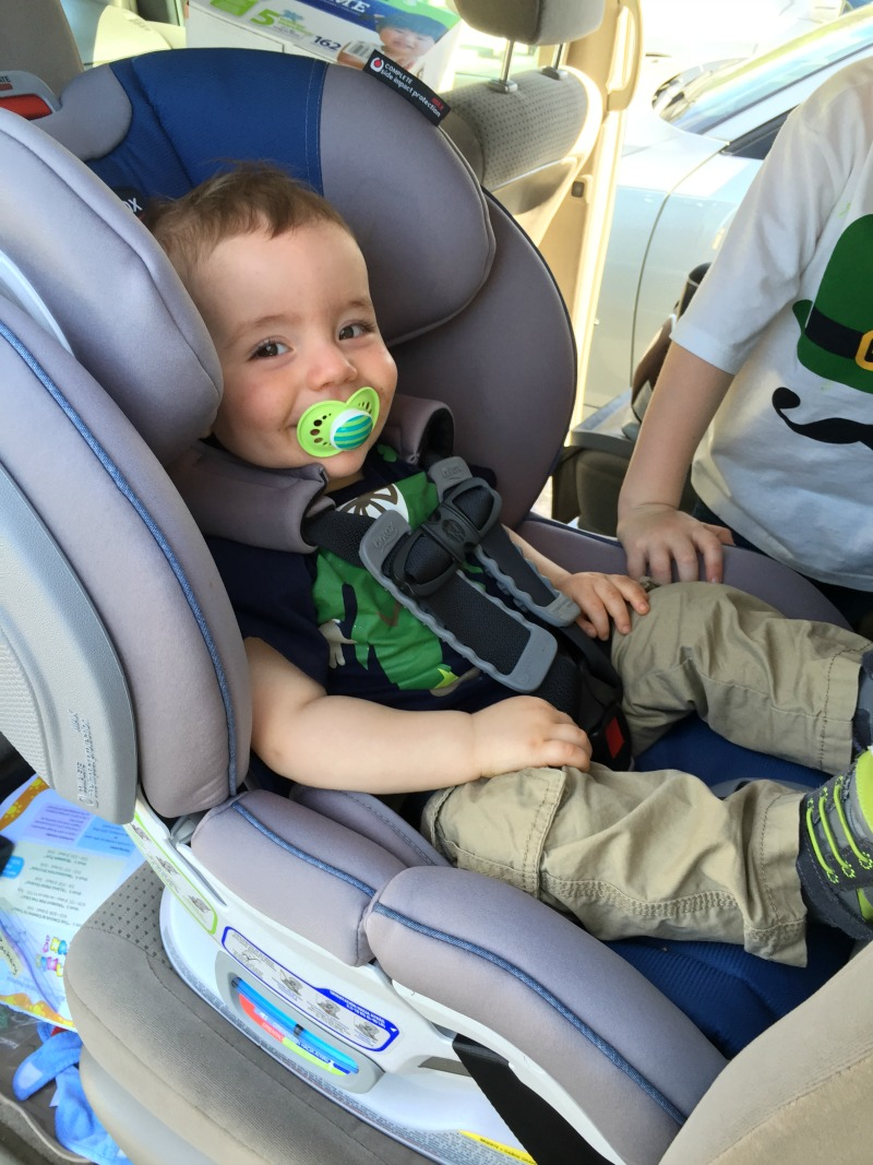 Lunchbox Dad: Is the Britax Advocate ClickTight Car Seat A Game ...