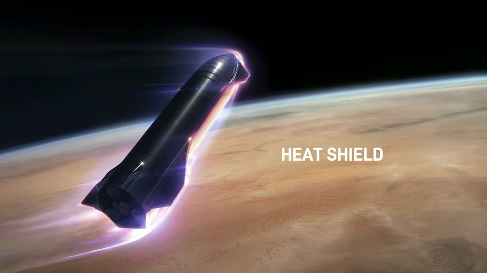 SpaceX's Starship heat shield