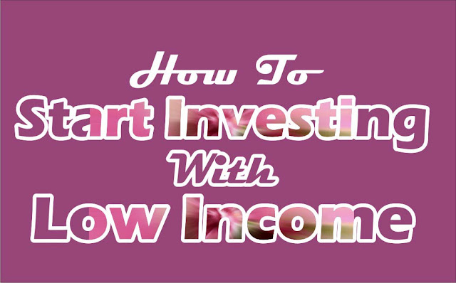 How To Start Investment With Little Income