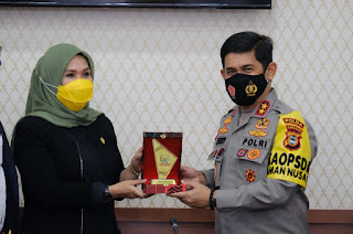 Jalin Sinergitas Dengan Legislatif, Kapolda Irjen Merdisyam Kunjungi DPRD Provinsi Sulsel