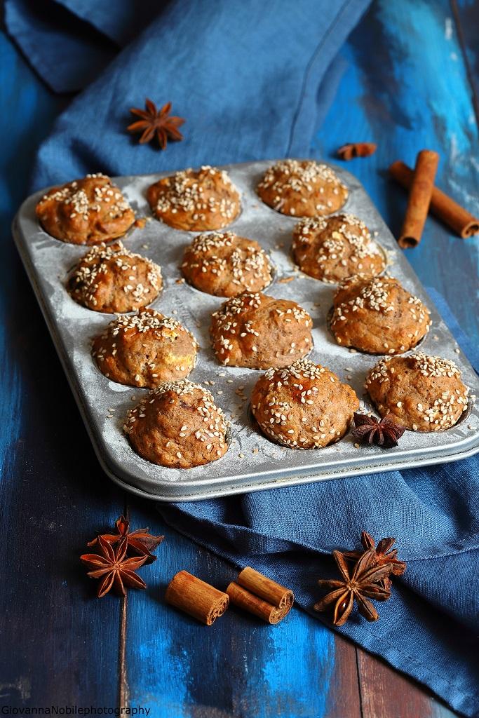 Mini muffin con cannella e anice stellato