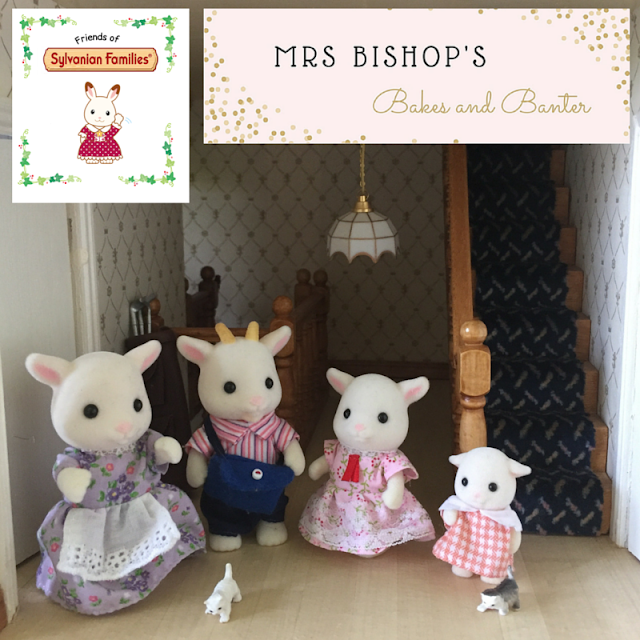 The Goat Family from Sylvanian Families