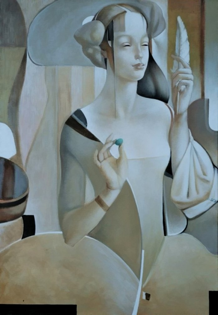 Женщины с бледной кожей и прекрасными чертами