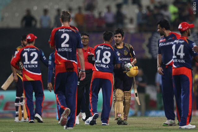 KKR vs DD, IPL 2017