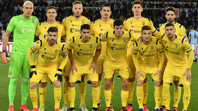 Jadwal Skuad Verona 2020