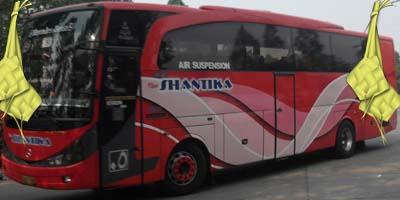 Harga Tiket Lebaran 2016 Bus New Shantika