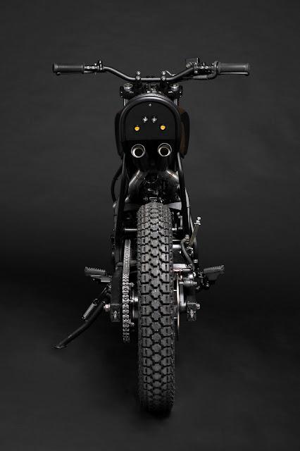 Honda Dominator By Atelier Medusa Hell Kustom