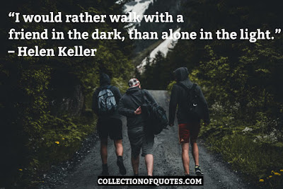 helen keller quotes about friends