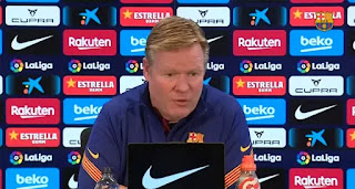'Barca aren't ready to win many things, we have to be realistic': Koeman