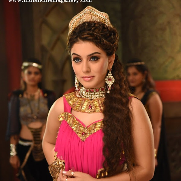 Hansika latest hot photos from Puli