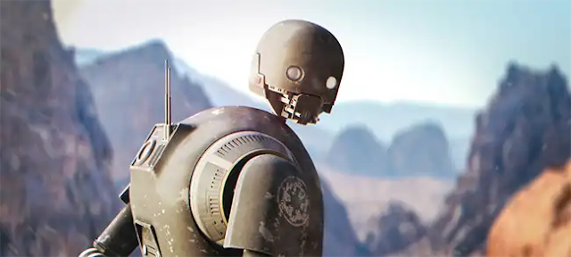 The droid K-2SO will be added to the Andor TV series during the story