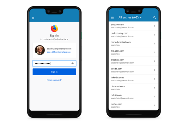 Mozilla releases Firefox Lockbox password manager app for Android