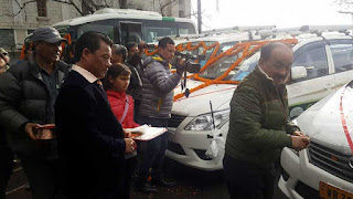 Gorkhaland Territorial Administration vehicles for tourism