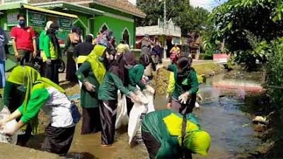 Bank Sampah Hijau Adakan Aksi Resik Kali di Sidomulyo Magelang