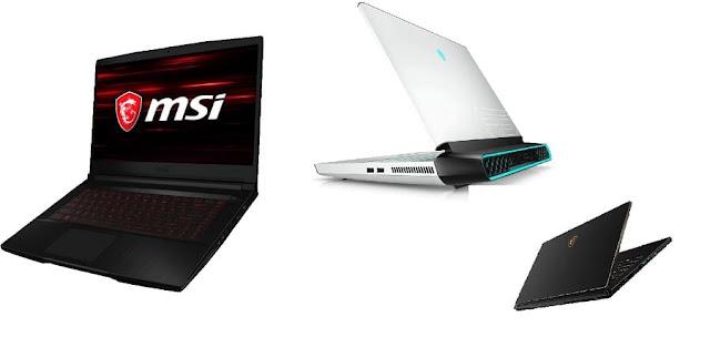 أجهزة الكمبيوتر المحمولة للألعاب
