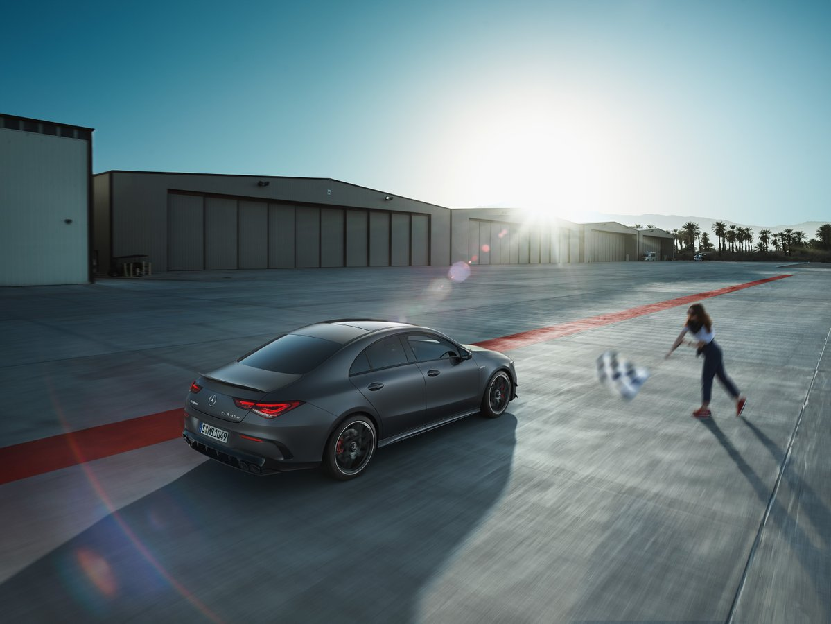 The New Mercedes-AMG CLA 45 S 4MATIC+ Stands For Top Performance