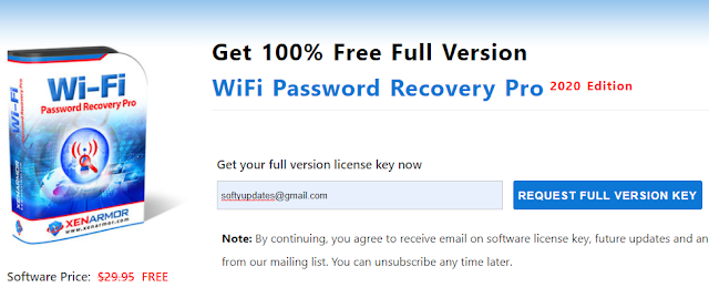 Giveaway: WiFi Password Recovery Pro 2020